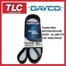 Dayco Fan Belt Hilux KUN16R KUN26R KUN16 KUN26 1KD-FTV 3.0 Diesel 4/05 on