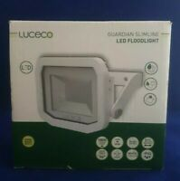 Luceco Guardian Slimline LED Floodlight IP65 1800 Lumens - White - LFS18W130-02