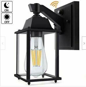 Dusk to Dawn Led Outdoor Light Sensor Porch Exterior Wall Lantern Scone Light