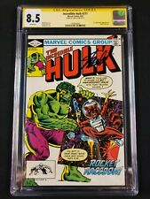 Incredible Hulk #271 CGC SS 8.5 Signed by Stan Lee! First Comic Rocket Racoon!