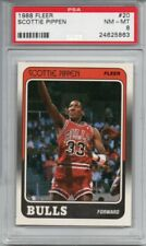 Scottie Pippen 1988-89 Fleer Rookie RC #20 PSA 8 NM-MT