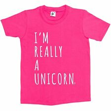 I/'m Really A Majestic Unicorn On The Inside Kids Boys Girls T-Shirt