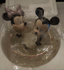 "Nib Nrfb Lenox ""Mickey's Tea Cup Twirl"" w/Mickey Mouse & Minnie Mouse Coa"