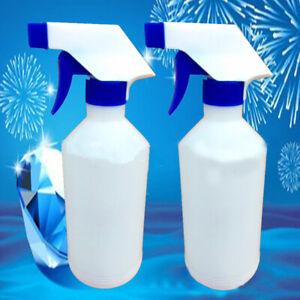 500ml Plastic Spray Bottles Leak Proof Chemical Sprayer Dilution Bottle Clea BX