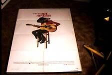 JIMI HENDRIX ORIG MOVIE POSTER 1973 A FILM ABOUT JIMI HARD ROCK GUITAR