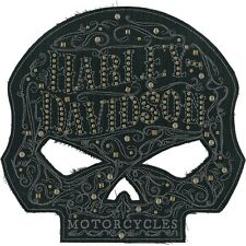 """Harley-Davidson Aufnäher/Emblem """"ORNATE SKULL"""" Patch  *EM146304*"""