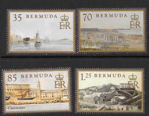 BERMUDA SG1085/8 2011 CASEMATES BARRACKS MNH