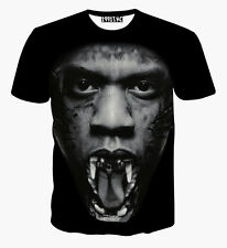 Jay Z Beast T-Shirt [Fresh Dope Smart Swag Casual Street Hip-Hop Basketball]