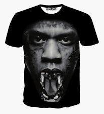 Jay Z BESTIA T-SHIRT [ Fresh Dope Swag Smart Casual Street hip-hop BASKET ]