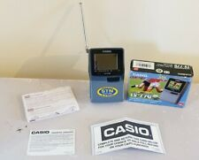 More details for vintage casio tv-770d miniature pocket portable tv with in-built stand working