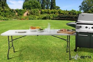 6FT Heavy Duty Folding Banqueting Table Catering BBQ Garden Camping Party Buffet