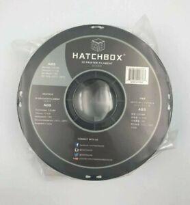 HATCHBOX ABS 3D Printer Filament 1 kg Spool, 3mm Silver [TE02]
