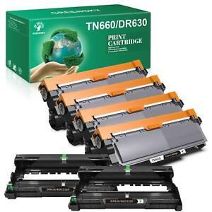 DR630 Drum TN660 Toner Cartridge Compatible for Brother MFC-L2700DW printer LOT