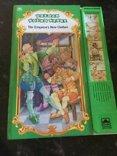 Golden Sound Story Book  A little Golden Book The Emperor's New Clothing Working