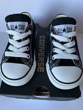 Converse All Star Chuck Taylor Toddler Baby Low Top Sneaker Shoes Black Size 5