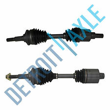 2 Front Driver and Passenger Side CV Axle Shaft 4 Speed Auto Chevy Made in USA