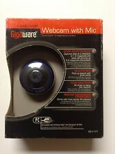 Gigaware 1.3 MP Camera Webcam With Microphone USB Brand New & Free Shipping