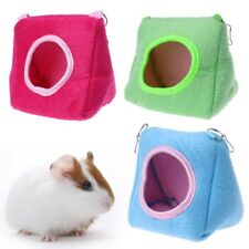 Cute Hamster Hanging House Hammock Cage Sleeping Nest Pet Bed Rat Hamster Toys