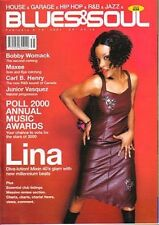 Lina on Blues & Soul Magazine Cover 2001   Bobby Womack   Junior Vasquez   Maxee