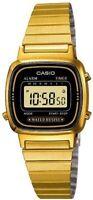 Casio Original Classic Ladies Digital Watch In Retro Gold