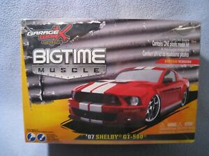 Jada Bigtime Muscle 2007 Ford Shelby GT-500 Mustang 1/24 Model Kit NEW NIB
