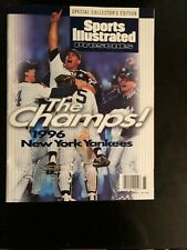 1996 SPORTS ILLUSTRATED COLLECTOR'S EDITION THE CHAMPS NEW YORK YANKEES