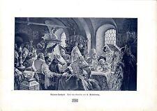 Der russische MalerKonstantin Jegorowitsch Makowsky Bojaren- Hochzeit Kunst 1908