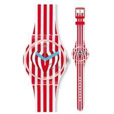 Orologio Uomo Donna Swatch REF.SUOZ168 SWEET VALENTINE ROSSO CON CUORE