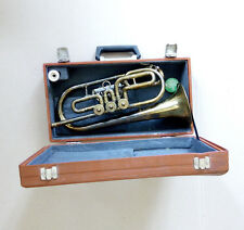 Vintage USSR Leningrad Brass Pipe Cornet