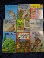 9 NATURAL HISTORY BOOKS by LADYBIRD  ** £3.25 UK POST ** HARDBACKS*