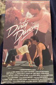 Dirty Dancing (VHS, 1987) Patrick Swayze, Jennifer Grey. New, Factory Sealed NEW