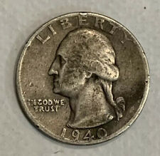 1940 USA Quoter Wrong Coin Error? Free Shipping (#AK558)