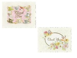 For Arts E1 Carol Wilson Sake Stationery Boxed Thank You Notes Cards BTY