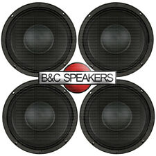 "B&C 10Md26 Hi-Quality 10"" Midbass Speaker 10"" Car Audio Midrange Woofer (Four)"