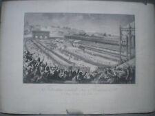 Fête de la fédération - 14 juillet 1790 - Tirage Fin XIX èS.