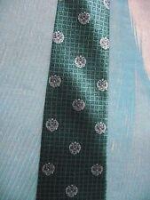 Faberge Perfume-Verde Designer 100% Cravatta Di Seta