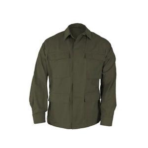 OD Green BDU Tactical Military Uniform 4-Pocket Coat Propper 60/40 Ripstop