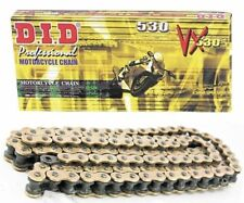 DID CHAIN 530 VXGB (ZJ) X 112 GOLD/BLACK HIGH PERFORMANCE MOTORCYCLE CHAIN