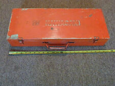 VINTAGE KAWASAKI TOOL KIT BOX  Z1 900 KZ900 KZ1000 Z1R H2 H1 S3 S2 OWNER MANUAL