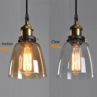 Glass Pendant Light Modern Ceiling Lights Kitchen Lamp Bedroom Pendant Lighting