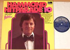 FRANZ LAMBERT - Hammond Hitparade 10  (FONTANA, D 1976 / LP NEAR MINT)