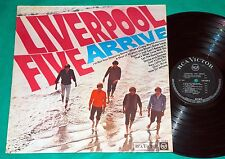 Liverpool Five - Arrive BRAZIL MONO LP 1966 RCA