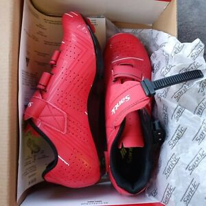 Santic Roadway Men and Women Red Cycling Shoes NEW