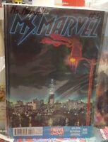 MS MARVEL #5 Marvel Comics COVER A 2nd Print Kamala Khan 2015