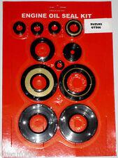 Suzuki GT500 Engine Oil Seal Kit 1976 1977 - 500 Motorcycle - 11pc kit! - New -