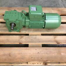Bauer BS10-13U/DHE09LA4 Motor reducer 1,5HP 1,1kW 60Hz 460V 77rpm i22,6 New NMP