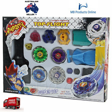 Beyblade Metal Spinning Sets Fusion 4D Gyro Box Fight Master String Launcher
