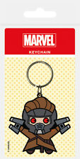 MARVEL GUARDIANS GALAXY STAR LORD RUBBER KEYRING NEW OFFICIAL MERCHANDISE