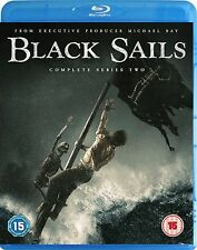 Black Sails Complete Series 2 Blu Ray All Episodes Second Season UK Release NEW