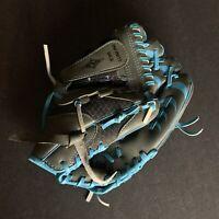 "Franklin Baseball Softball Glove 22750 Blue Color Youth 10 1/2"" RHT"